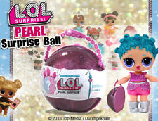 L.O.L.  Surprise!  Pearl Surprise Ball Puppe LOL Handtasche