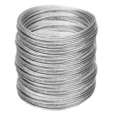 1000' Antenna Guy Wire Plastic Coated Galvanized 6/20 Guy Wire for Mast EZ 60