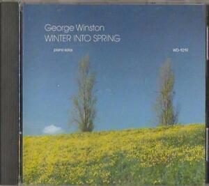 C.D.MUSIC  D820   GEORGE WINSTON :  WINTER INTO SPRING  CD