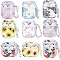 For Apple AirPods 1/2 Case TPU Cover Shockproof Protective Delightful Designs