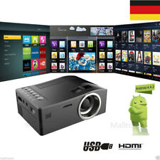 2500Lumen 1080P HD LED Projektor Beamer Multi-screen Heimkino HDMI SD USB VGA DE