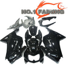 Glossy Black Fairing Kit Injection Plastic fit for KAWASAKI NINJA 250R 2008-2012