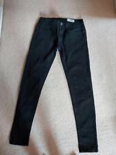 Mens Super Skinny Black Jeans 30W 32L Slim Spray on Denim co Next Topman Burton