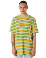 Stussy Short Sleeve Striped T-Shirts for Men
