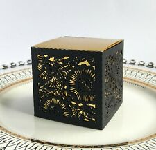 Hollow Cut Euporean Flower Pattern Candy Box Wedding Favor Bridal Shower
