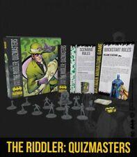 Der Riddler quizmasters Bat-Box Batman Miniatur Spiel Neu & Versiegelt