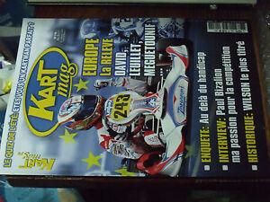 11µµ Revue Kart Mag n°190 Leuillet Bizalion Wilson Trucs & astuces Handi-kart