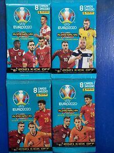 Panini Adrenalyn XL UEFA Euro 2020 - 2021 Kick Off 4 Packs Of 8