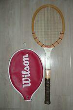 Vintage Wilson JACK KRAMER Autograph Wood Tennis Racquet Racket Great Condition
