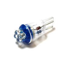 PEUGEOT 306 501 W5W Bleu Intérieur Ampoule de courtoisie LED Haute puissance lumière mise à niveau