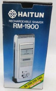 Haitun Rechargeable Shaver Professional With Travel Case New