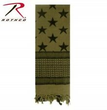 Stars and Stripes Olive Drab Shemagh Tactical Desert Scarf Rothco 8864