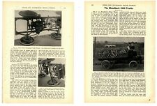 1908 Meiselbach Trucks Multi-Page Story from Auto Trade Journal - Complete