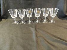 CRISTAL D'ARQUES 6 VERSAILLE LEAD CRYSTAL GLASSES 120ml