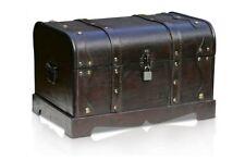 Brynnberg Columbus Schatztruhe Holztruhe Kolonialstil Piratentruhe Kiste #