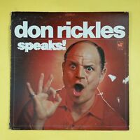 DON RICKLES Speaks! WS1779 LP Vinyl VG near + Cover VG WB Green Label
