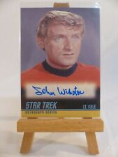 Star Trek TOS 40th anniversary 2009 autograph card A214 John Winston as Lt. Kyle