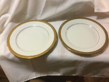 """Centurion Collection 9414 Pure Gold 10.5"""" Dinner Plates Set Of 2"""