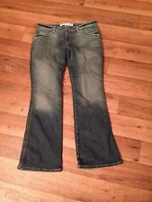 '08 GAP Women's 6 Ankle Ultra Low Stretch Whisker 5 Pkt Flare Jeans 30x30