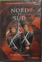 °°° DVD NORD ET SUD ENFER ET PARADIS DVD 8 NEUF SOUS BLISTER