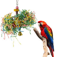 Pet Toys Parrot Toy Bird Bell Ball For Parakeet Chew Fun Cage Pet Bird ToyA_eo