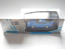 Porsche 911 gt2 Street 1995 in Bleu Bleu Blue, MINICHAMPS 430065001 1:43 en boîte!