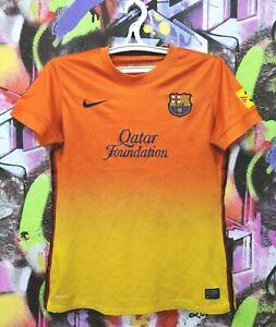 Barcelona FC Barca 2012 2013 Away Football Shirt Soccer Jersey Top Nike Womens M