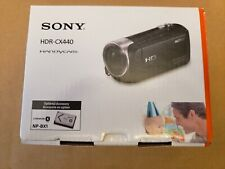 Sony Handycam HDR-CX440 8GB Wi-Fi 1080p HD Video Camera Camcorder
