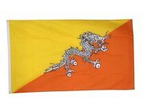 Fahne Bhutan Flagge bhuthanische Hissflagge 90x150cm