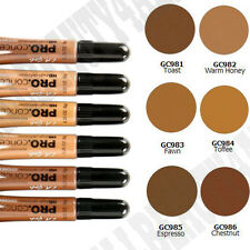 """LA Girl Pro HD High Definition Concealer """"6 SHADES: TOAST to CHESTNUT"""""""