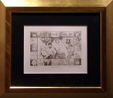 "Charles Bragg ""Gluttony"" Hand Signed w/custom frame MAKE AN OFFER!"