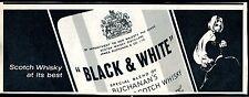 Black & White--Scotch Whisky at its best--Werbung von 1967