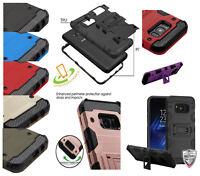 Samsung GALAXY A10E Shockproof Impact Tuff HYBRID Armor Rugged Case Phone Cover