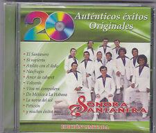 """SONORA SANTANERA-""""20 Autenticos Exitos Originales""""-Tejano TexMex CD SEALED(#392)"""