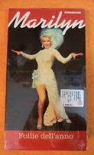 film VHS cartonata FOLLIE DELL'ANNO Marilyn Monroe SIGILLATA Lang (F107) no dvd
