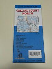 Michigan Map - Oakland County North  2017 =