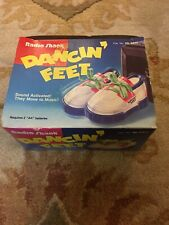 Sound activated Dancin Feet Retro 1991 Radio Shack Tandy Sneakers dance Shoe