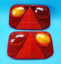 RH & LH Radex 2800 lente de repuesto para la Unidad de Lámpara De Remolque Derecho & lado izquierdo