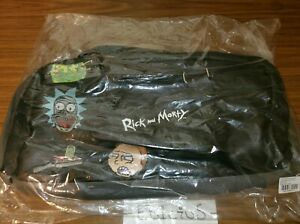 NWT! Licensed Adult Swim Rick and Morty Lifestyle Duffle Duffel Bag