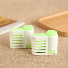 Quality Hot Tools Cut Kitchen Cake 5 Layers 1Pair Bread Slicer Fixator Cutter