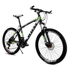 24 Inch High Carbon Steel Frame Bike Mountain Racing Bike 24 Speed Road Bicycle
