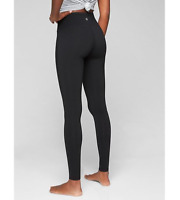 "Athleta Women's Size Small High Rise Chaturanga Tight Legging Black 28"" Inseam"