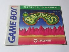 Nintendo Game Boy Instruction Manual Booklet - BATTLETOADS