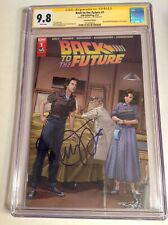 CGC SS 9.8 Back to the Future #1 Wizard World Variant signed by Michael J. Fox