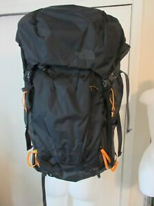 NWT The North Face Griffin 65 Backpack - S/M Black/Yellow Backpack