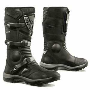 motorcycle boots | Forma Adventure black waterproof adv road touring gear dual