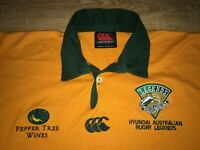 Hyundai Australian Rugby Legends rare vintage canterbury rugby shirt size XL
