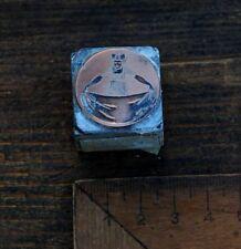 Kupferklischee  Bleisatz Druckstock Klischee Galvano Jugendstil Druck Werbung