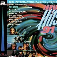 Nuove hits'91 (BMG/Ariola) Londonbeat, Stevie B., Sandra, Snap, Blue [CD DOPPIO]