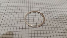 Alloy 2.5mm Thick Bottom Bracket Spacer SILVER for spacing bottom bracket cups